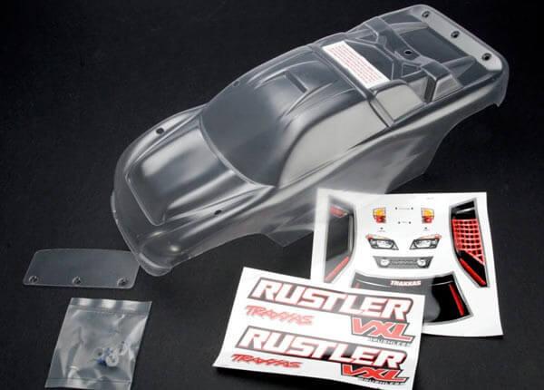 TRAXXAS® 3714 Karosserie Rustler klar für dein exklusives Design