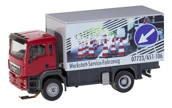 Faller 161554 Car System LKW MAN TGS Werkstattservicewagen