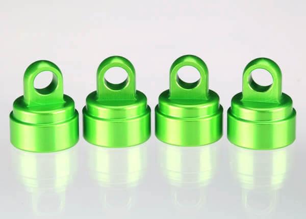 TRAXXAS® 3767G Ultra Shock Aluminium Dämpfer-Kappen-Set grün