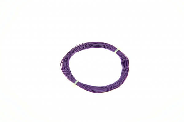 ESU 51941 Hochflexibles Kabel, Durchmesser 0,5mm, AWG36, 10m Wickel, Farbe violett