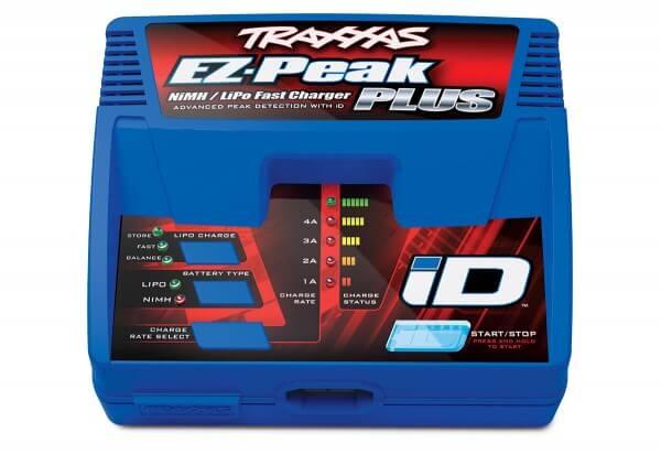 TRAXXAS® 2970G EZ-Peak Plus 4-amp NiMH/LiPo Schnellladegerät mit iD™