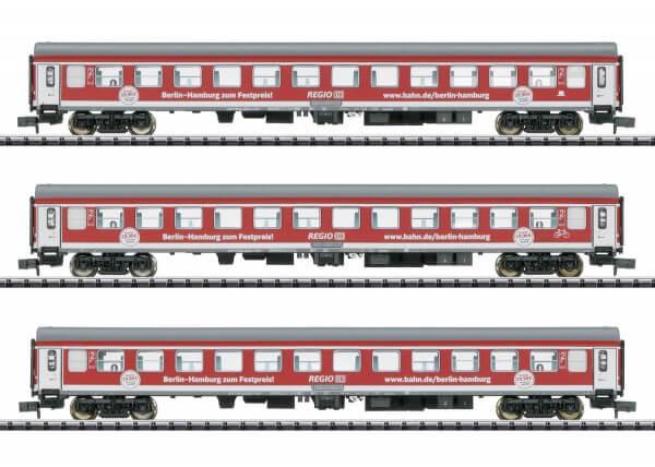 """Minitrix 15711 Schnellzug-Wagenset """"Berlin - Hamburg-Express"""""""