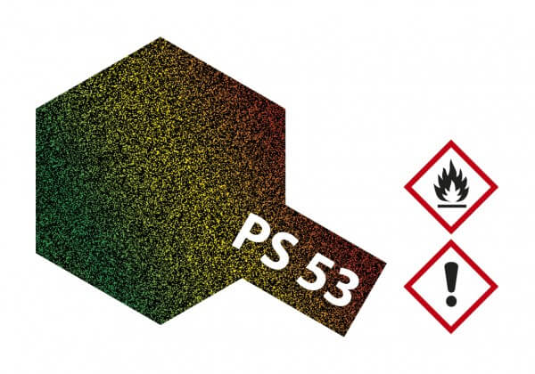 TAMIYA 300086053 PS-53 Lame Flake Polycarbonat 100ml