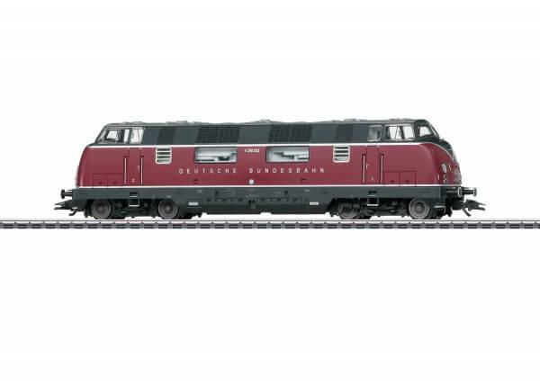 Märklin 37806 schwere dieselhydraulische Lokomotive Baureihe V 200.0 der Deutschen Bundesbahn mit Sound