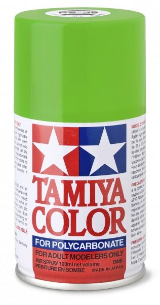 TAMIYA 300086028 PS 28 NEON-GRÜN Polycarbonat 100ml