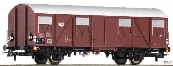 Roco 76610 Gedeckter Güterwagen mit Schlussleuchten