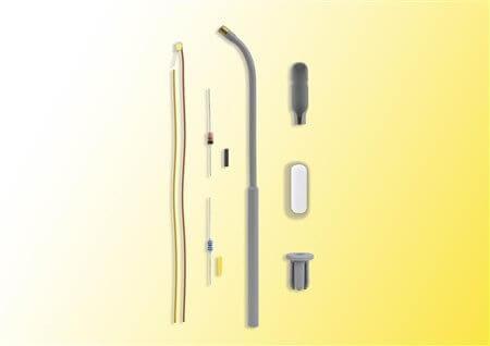 Viessmann 6622 Bausatz Peitschenleuchte LED weiß