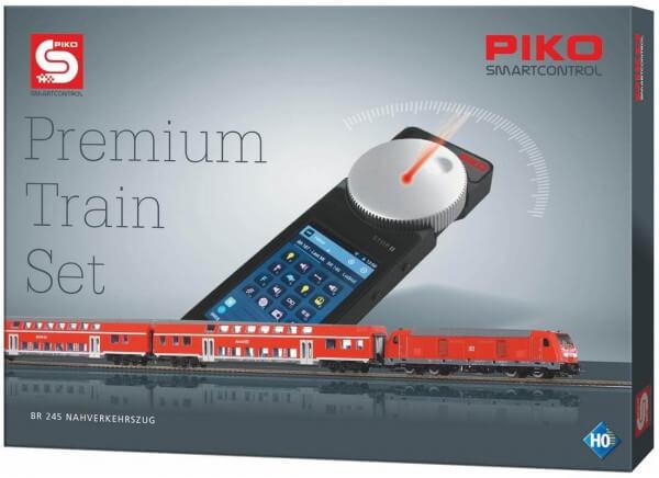 59112 PIKO SmartControl® Premium Start-Set BR 245 Nahverkehrszug