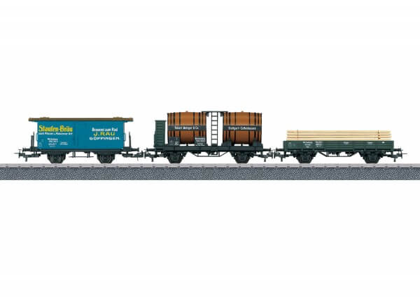 Märklin 44140 Güterwagen-Set Sml, Weinfaßwagen, Litera H