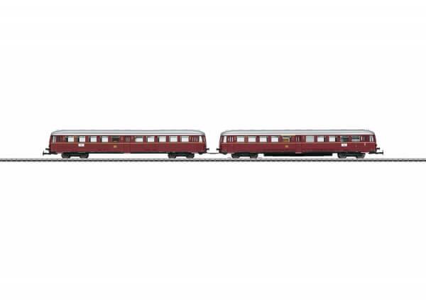 Märklin 30760 Akku-Triebwagen ETA 150 und Steuerwagen ESA 150 mit Innenbeleuchtung