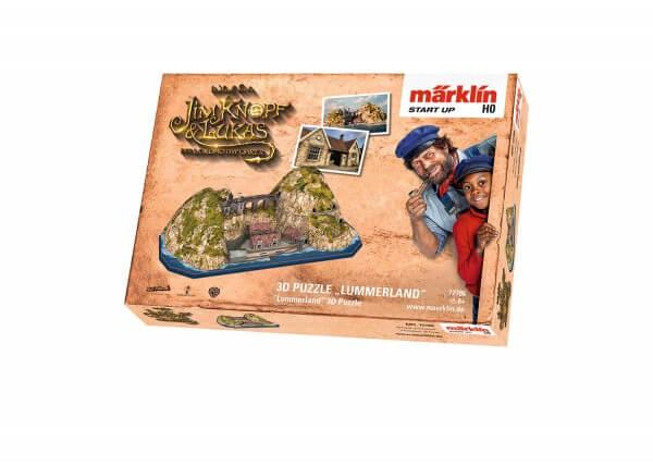 """Märklin 72786 Märklin Start up 3D Puzzle """"Lummerland"""""""