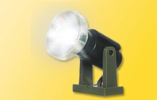 Viessmann 6530 Flutlichtstrahler niedrig LED weiß