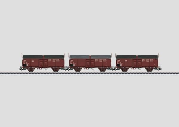Märklin 46195 3 Schiebedachwagen Tcms 850