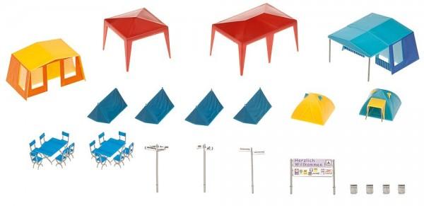 Faller 130504 Camping-Zelte-Set