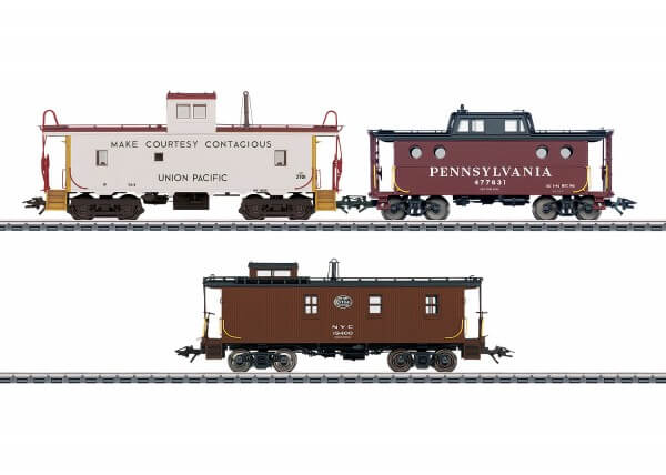 Märklin 45706 3 Güterzugbegleitwagen