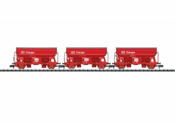 """Minitrix 15098 Güterwagen-Set """"Seitenentladewagen"""" Td"""