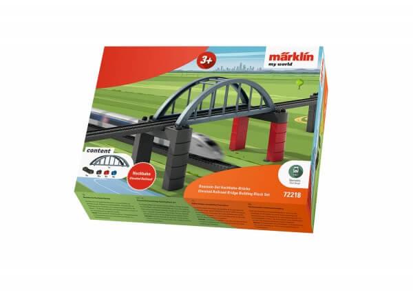 Märklin 72218 my world - Baustein-Set Hochbahn-Brücke