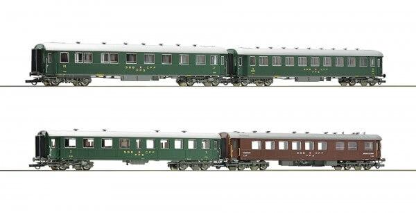 Roco 74126 4-teiliges Schnellzug Set der SBB