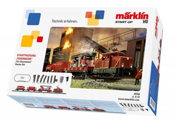 """Märklin 29752 Märklin Start up Starpackung """"Feuerwehr"""""""