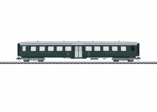 Märklin 43382 Leichtstahl-Sitzwagen 3. Klasse Serie C4ü 6069-6100 der SBB