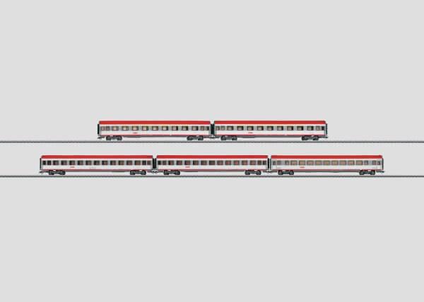 Märklin 42728 EC-Schnellzugwagen-Set ÖBB