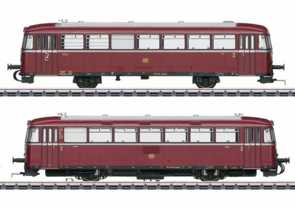 märklin 39978 Schienenbus-Motorwagen VT 98.9 und Steuerwagen VS 98