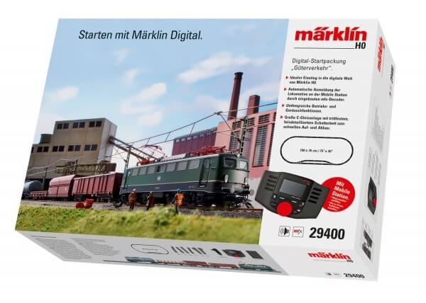 Märklin 29400 Digital-Startpackung Güterverkehr DB BR 140