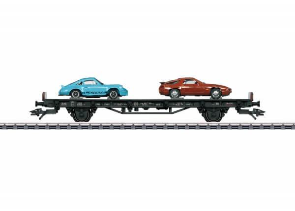 """Märklin 45054 Autotransportwagen """"70 Jahre Porsche-Sportwagen 4"""""""