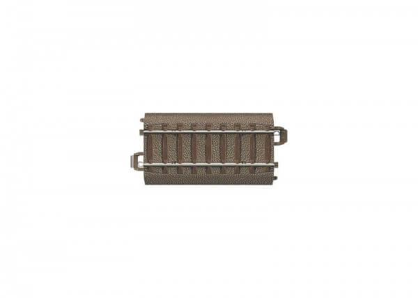 TRIX 62071 Gerades Gleis 70,8 mm mit abnehmbaren Böschungsflanken