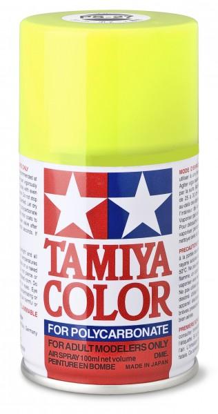 TAMIYA 300086027 PS 27 NEON-GELB Polycarbonat 100ml