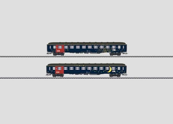 Märklin 42693 Personenwagen-Set Bcm der Dänischen Staatsbahnen