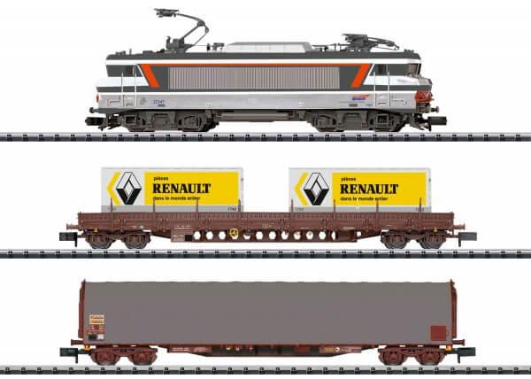 Minitrix 11142 Digital-Startpackung Güterzug Serie 22200