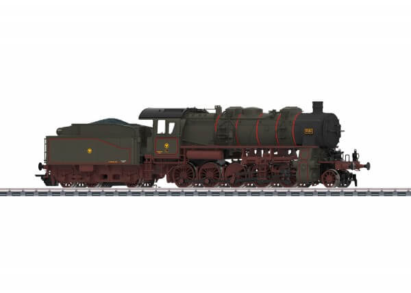 Märklin 37588 Güterzug-Dampflokomotive preußische G12 Borsig-Edition