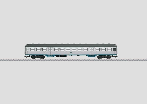 "Märklin 43803 Nahverkehrswagen ""Silberling"" BR Bnb 719 mit Innenbeleuchtung"