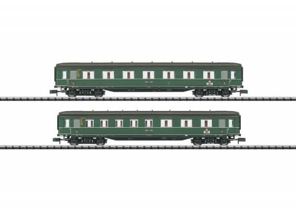 """Minitrix 15802 Schnellzugwagen-Set """"Berlin-Hamburg"""" 2 der Deutschen Reichsbahn"""