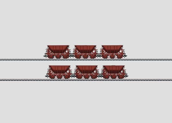 Märklin 46370 Erzwagen-Set 1 dreiachsige Erzwagen