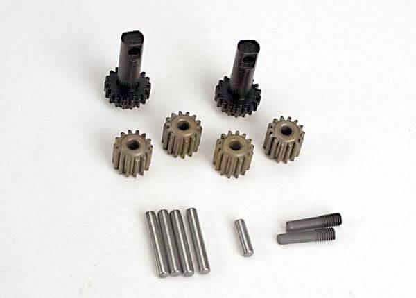 TRAXXAS® 2382 Differential-Zahnräder-Satz aus gehärtetem Stahl
