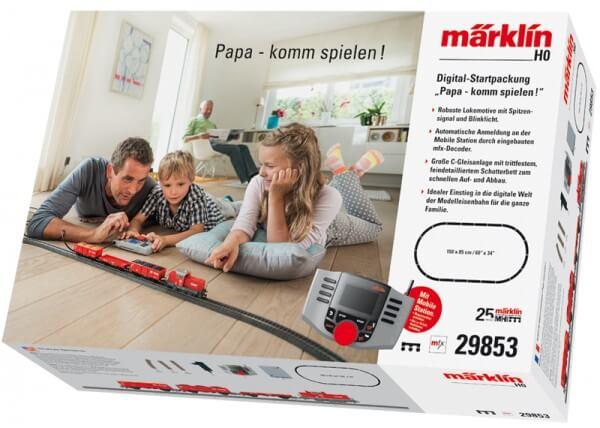 """Märklin 29853 Digital-Startpackung """"Papa – komm spielen!"""""""