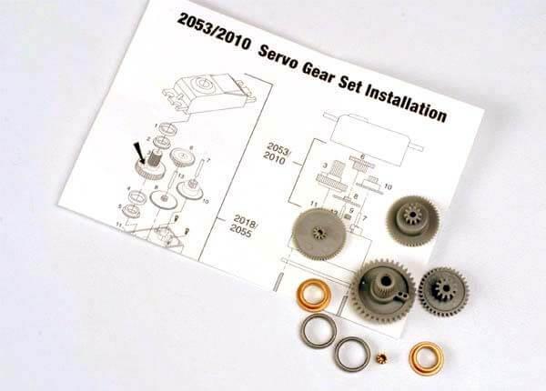 TRAXXAS® 2053 Ersatz Servo-Getriebe für 2055 und 2056
