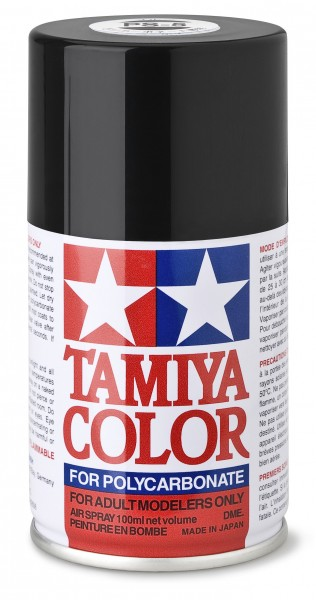 TAMIYA 300086005 PS-5 Schwarz Polycarbonat 100ml