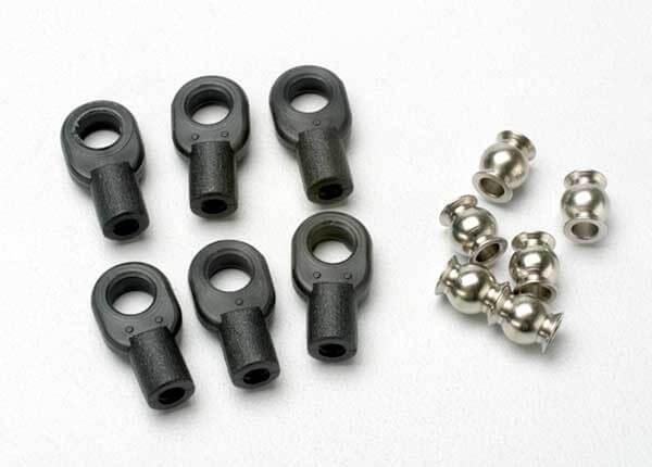 TRAXXAS® 5349 Kugelpfannen klein für Revo Lenkgestänge