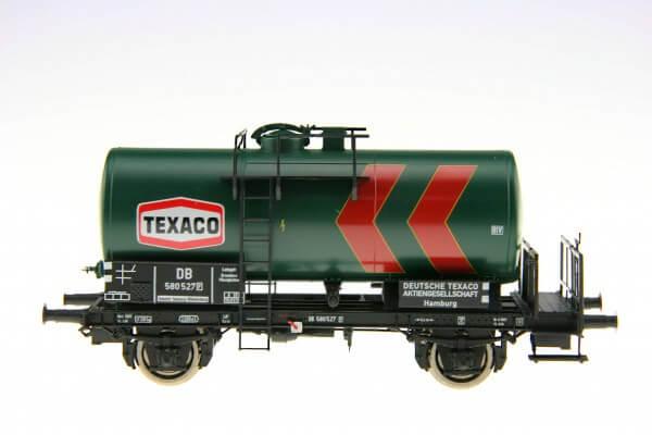 """BRAWA 49200 2-achsiger Kesselwagen """"Texaco"""" der DB"""