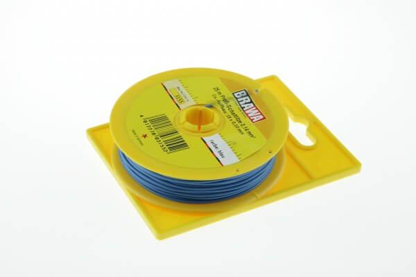 BRAWA 3155 Schaltlitze, 0,14 mm², 25-m blau