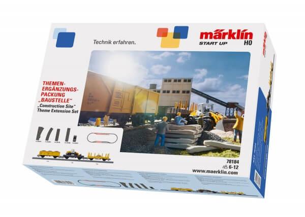Märklin 78184 Themen-Ergänzungspackung Baustelle Märklin Start up