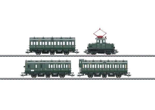 Märklin 26195 Personenzug mit E 69 und Abteilwagen
