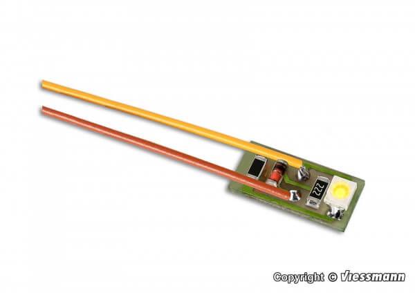 Viessmann 6007 Hausbeleuchtung mit 1 LED gelb 10 Stück