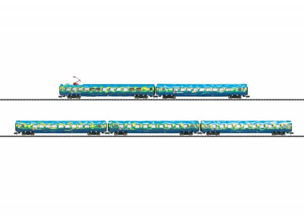 "Minitrix 15425 Wagen-Set ""Touristik-Zug"""