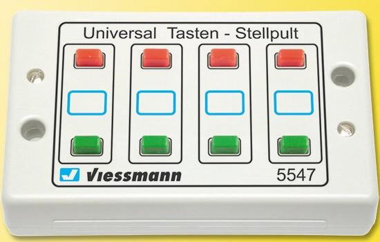 Viessmann 5547 Tasten-Stellpult 2-begriffig