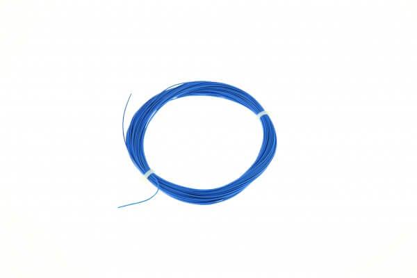 ESU 51949 Hochflexibles Kabel, Durchmesser 0,5mm, AWG36, 10m Wickel, Farbe blau