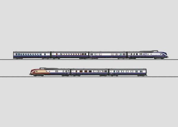 Märklin 37608 BR 601 Blue Star Train Diesel Triebzug